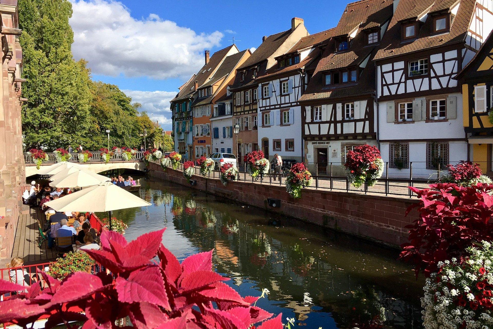 visite-canaux-Colmar-Alsace-France