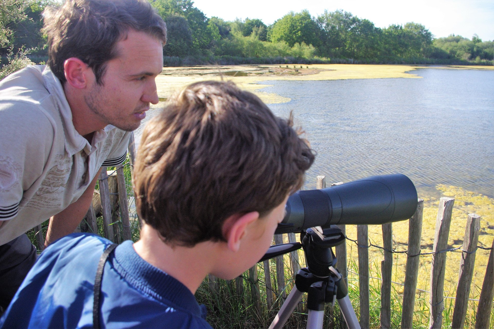 télescope-tour privé-enfants-Morbihan-Bretagne-France
