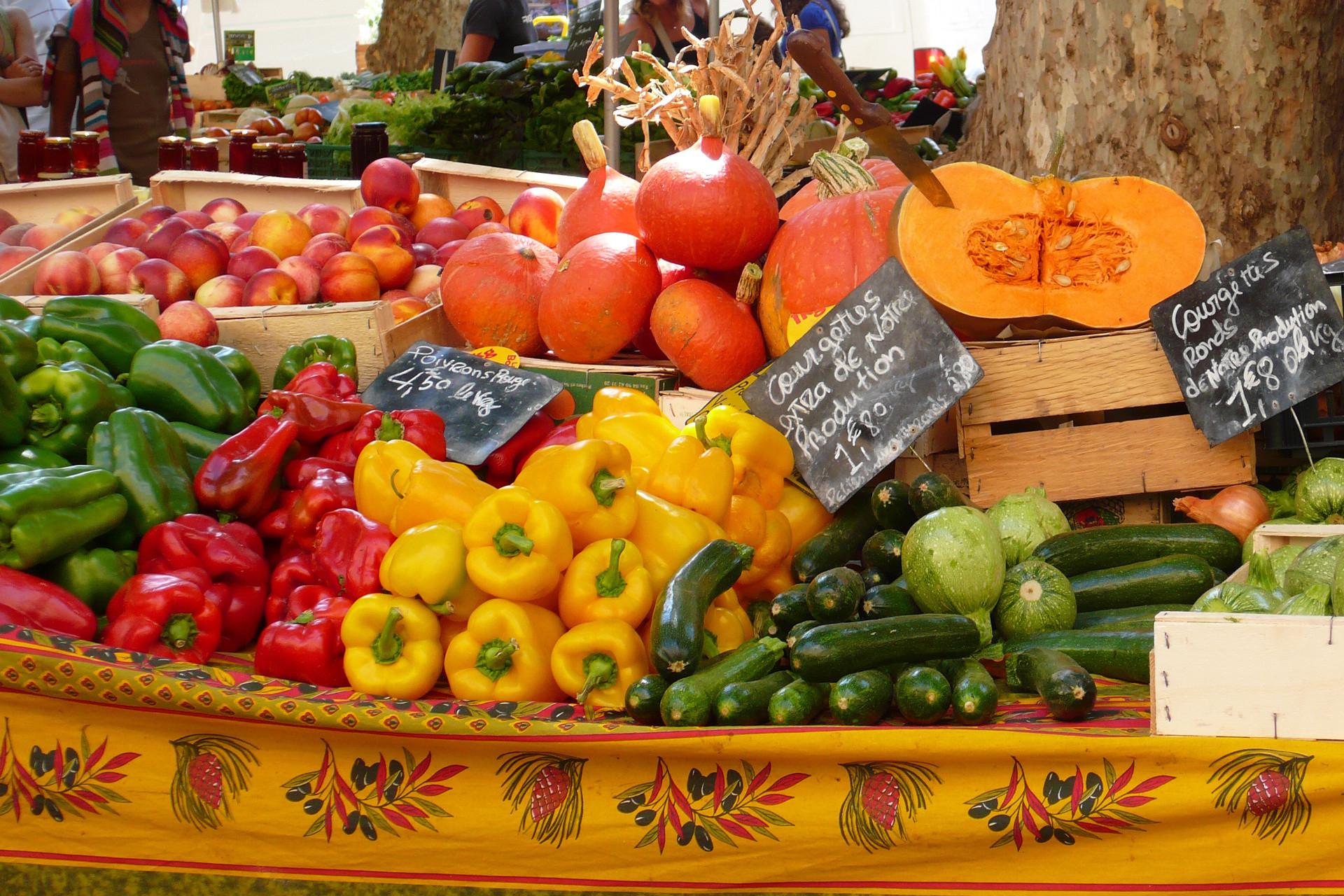 Market-food-cooking class-beaujolais - Villefranche sur saone - Lyon