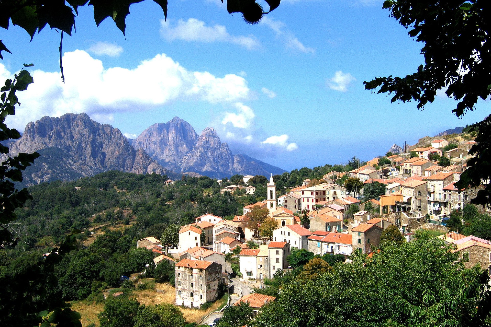 Lovely corsican village
