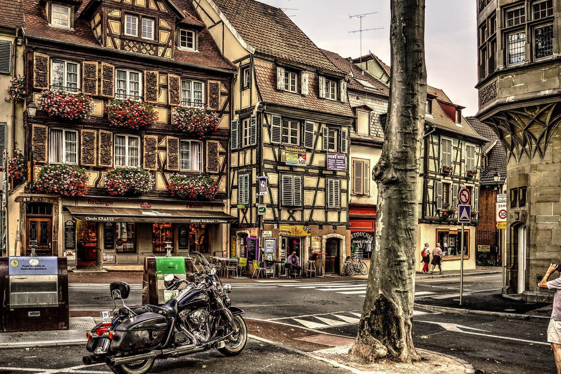 visite privée-maisons-colombages-Colmar-Alsace-France
