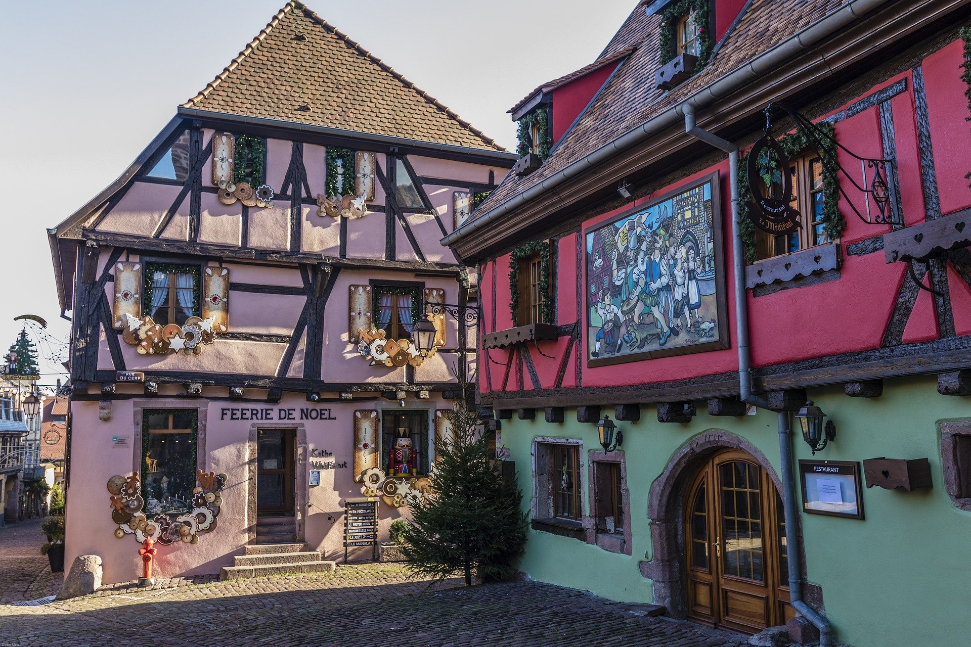 half-timbered-houses-private tour-Alsace-France