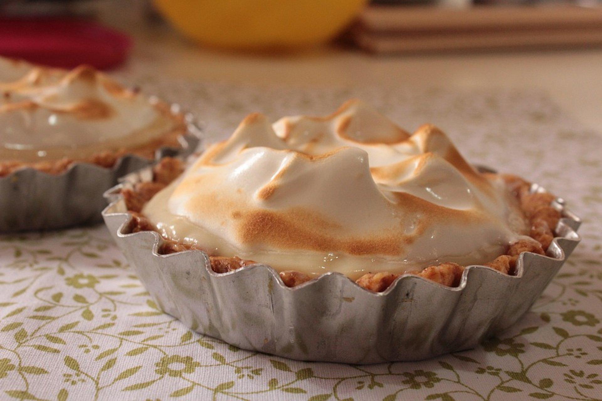 delicieuse tarte au citron meringuée