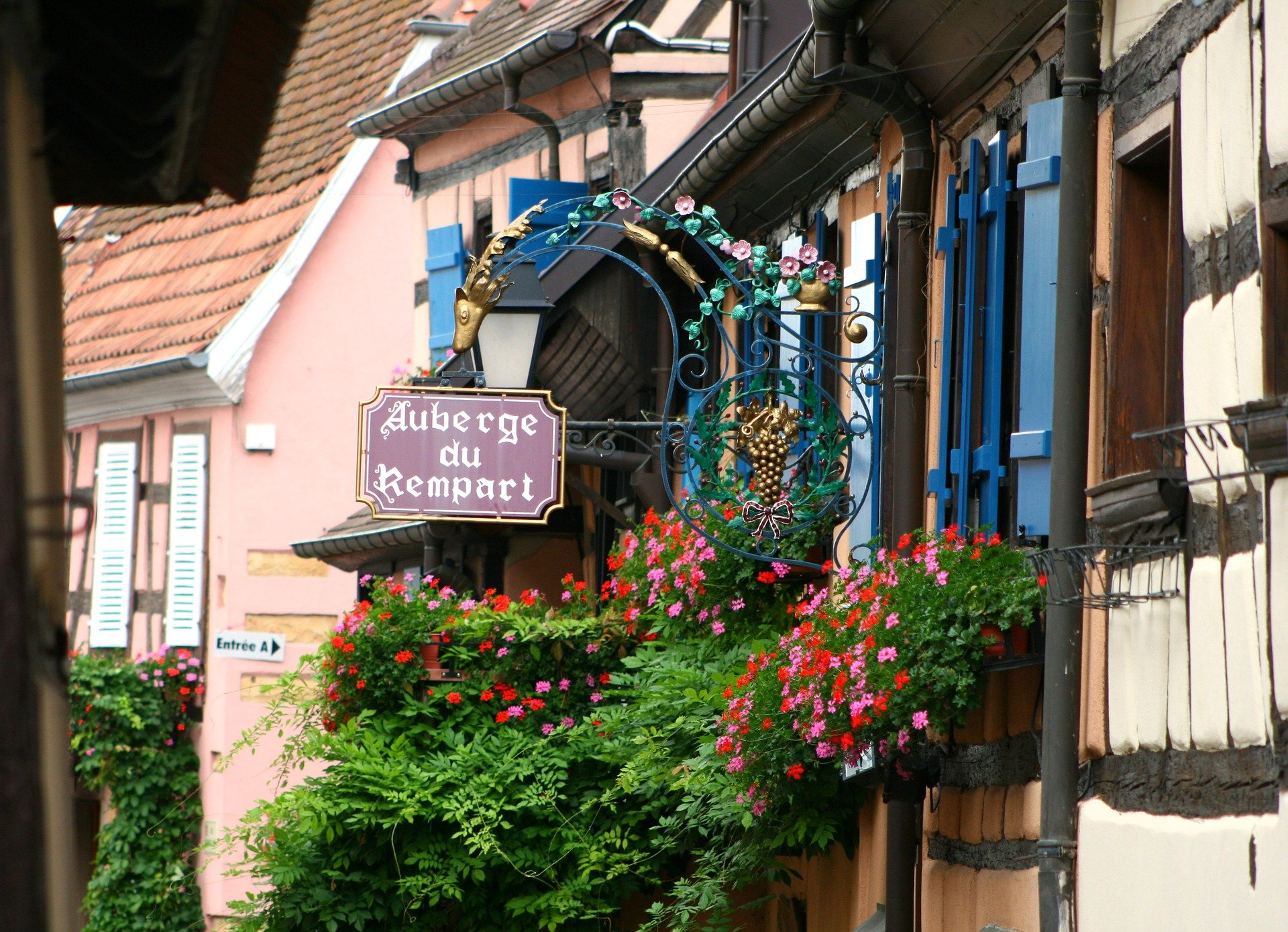 private tour-Eguisheim-Alsace-France