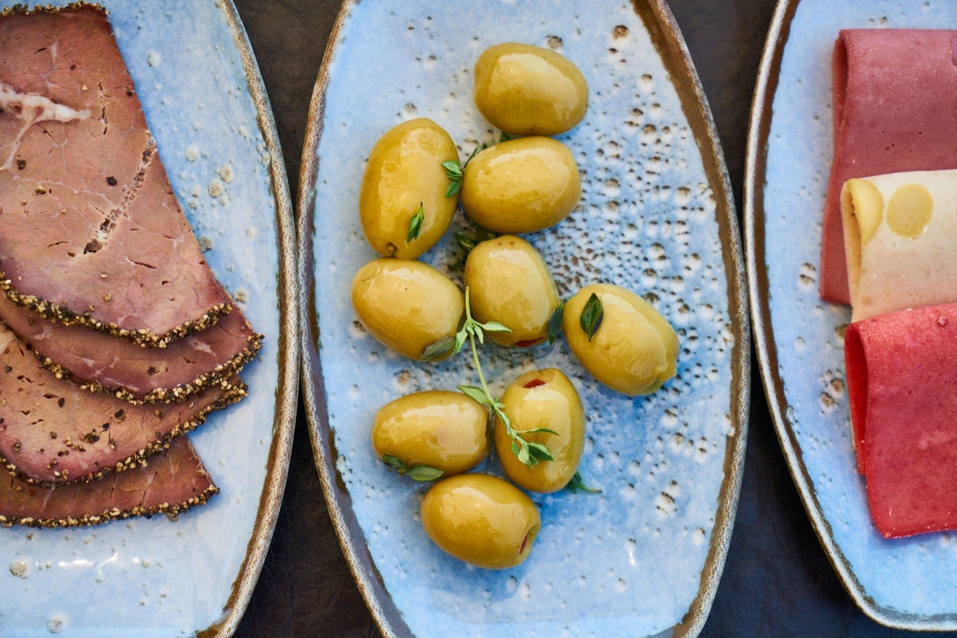 appetissants produits provencaux a manger avec les doigts